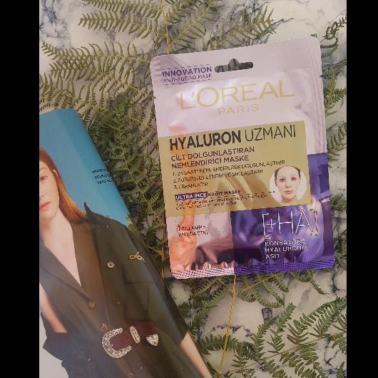 Maske-L'Oréal Paris-Hyaluron Uzmanı Kağıt Yüz Maskesi-onerili1blog-yorum-Puan-5puantiye