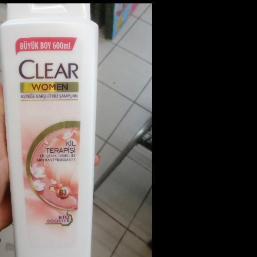 Şampuan-CLEAR WOMEN-Kil Terapisi Şampuan-oznuryilmaz-yorum-Puan-5puantiye