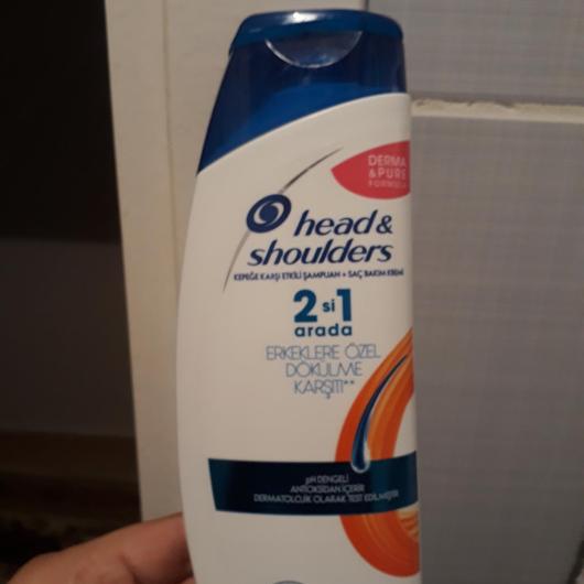 Şampuan-Head&Shoulders-Erkeklere Özel Saç Dökülmelerine Karşı 2in 1 Şampuan-saniyegokmen-yorum-Puan-5puantiye