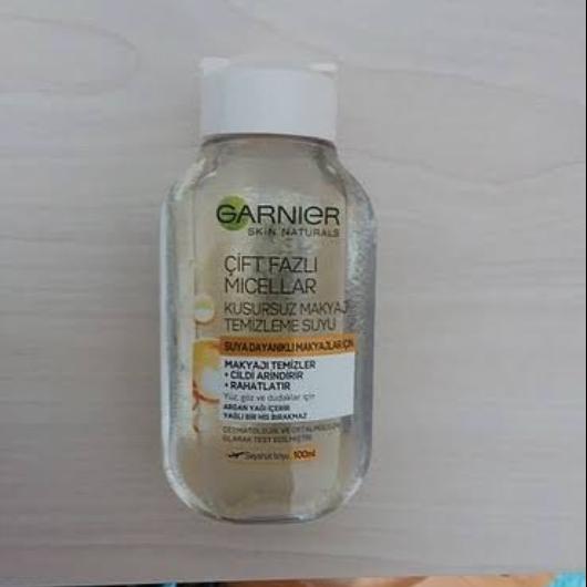 Makyaj Temizleyici-Garnier Skin Naturals-Garnier Çift Fazlı Micellar Kusursuz Makyaj Temizleme Suyu-fikrimmcee-yorum-Puan-5puantiye
